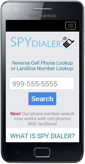 Free cell phone number lookup no charge search by telephone number in